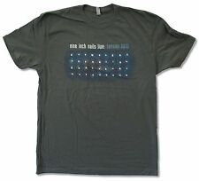 """NINE INCH NAILS """"LIVE TEETH TOUR 2013"""" GREY T-SHIRT TENSION NEW OFFICIAL NIN"""