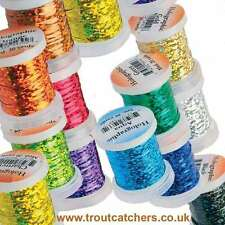 Holographic Medium Tinsel - Quality Fly Tying Material