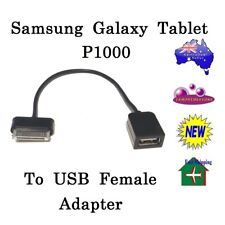 Samsung Galaxy Tab Tablet P1000 30 Pin Cable to USB Female Host OTG Adapter Kit