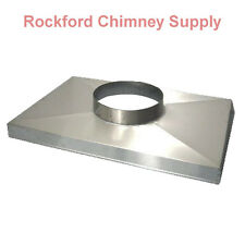 Stainless Steel Chimney Chase Cover - Custom Made - Lifetime Warranty