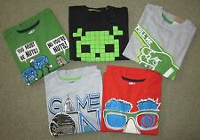NWT CRAZY 8 L/S Tee Choose Pattern Boy's Small 5 6 by Gymboree FREE SHIPPING