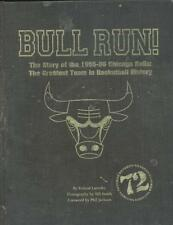 Bull Run! Story of the 195-96 Chicago Bulls - R Lazenby - HB - LIMITED EDITION