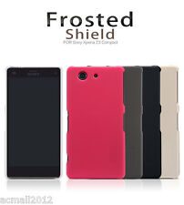 Nillkin Frosted Matte Hard Cover Case Shell + Film For Sony Xperia Z3 Compact
