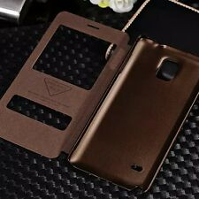 New Flip Stand Case Cover PU Leather For Samsung Galaxy Note4 IV N9100