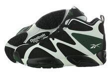 Reebok Kamikaze I Mid V60362 White Black Basketball Shoes Medium (D, M) Mens
