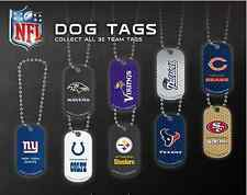 2014 NFL DOG TAG Football 32 teams to choose from!! OFFICIAL LICENSED!! NEW!!!