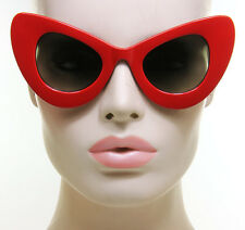 Extreme Cat Eye Oversized Sunglasses Womens Fashion Huge Big Retro Vintage