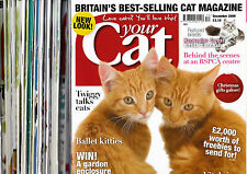 YOUR CAT Magazines from 1998, 2006, 2007, 2008 & 2009 [select your issues]