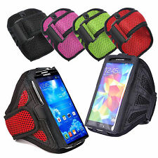 Sports Running Jogging Gym Net Fabric Armband Case Cover Pouch Samsung Galaxy