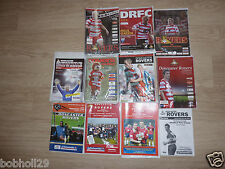 Doncaster Rovers  Home Programmes  2000/01 to 2008/09   Select from list