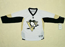 Reebok Youth NHL Pittsburgh Penguins Replica White Jersey - Boys Size(s) - NWT
