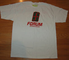 NEW FORUM SNOWBOARDING WHITE T-SHIRT MEN'S S SMALL or  XL