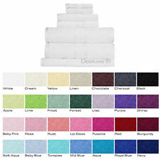 100% Cotton FACE WASHER BATH MAT HAND TOWEL BATH TOWEL BATH SHEET or TOWEL SET