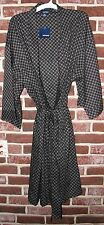 mens COTTON BATHROBE robe two patterns NEW!