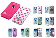 """Design Shell + Silicone Cover VERGE Hybrid Case with Stand for iPhone 6 4.7"""""""