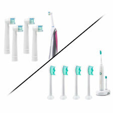 8-Pack Compatible Replacement Toothbrush Heads for Philips Sonicare or Oral-B
