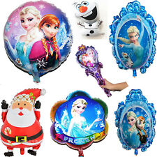 Frozen Aluminum Foil Helium Balloons Party Home Decor Santa Christmas Kids Gift