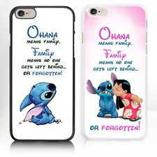 Disney Lilo And Stitch iPhone case for Phone Range 4 5 5s 5c 6 6s