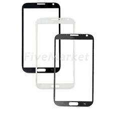 New Front Cover Outer Screen Glass Lens For Samsung Galaxy Note 2 II N7100