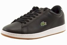 Lacoste Men's Carnaby EVO CRT SPM Black/White Fashion Sneakers Shoes