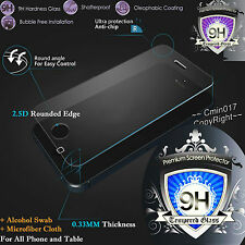 Real Tempered Glass Film Screen Protector for Iphone Ipad Cover Various Model
