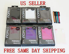 5 Color Incipio Stowaway Credit Card ID Kickstand Case Cover for iPhone 4 4S