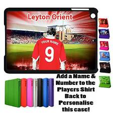 PERSONALISED LEYTON ORIENT UNOFFICIAL MAGNETIC COVER IPAD MINI SMART CASE GIFT