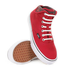 LADIES VANS AUTHENTIC HI CHILLI PEPPER SNAKE WHITE TRAINERS SHOES UK SIZE
