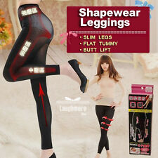 Women's High Compression Seamless Control Shapewear Leggings Burn Fat Shaper