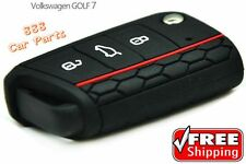 Silicone Key Cover for VOLKSWAGEN Golf 7 Skoda Octavia A7 3 Color to Choose