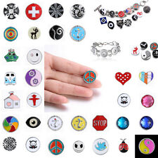 New 1Pcs Noosa Charms Snap on Chunk Button New Jewelry For personality Diy Gfts