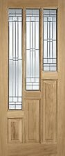 Oak Coventry Exterior- Elegant External Door-Double Glazed Zinc Glass