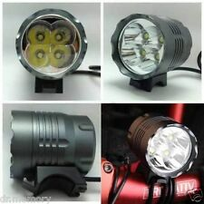 4 CREE XML T6 4800LM & 5200LM LED Bike Bicycle Light Bicycle Head lamp Headlight