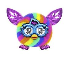 NEW Furbling Crystal Rainbow Purple Pink Blue Boxed Talks to Furby Boom Furbies