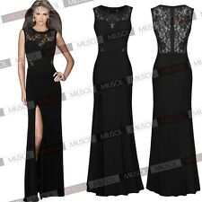 New Women Sexy Prom Bridesmaid Eevening Formal Party Gown Wedding Lace Dresses
