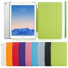 Foldable Ultrathin PU Leather Smart Cover Case For iPad 2 3 4 5 6 Air Mini 1 2 3