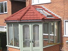 Granulated Lightweight Pan Tiles & Roofing for Conservatories, Outbuildings