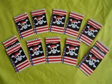 PIRATE - SKULL !!  SPIRAL MINI NOTE BOOK PADS  - PARTY BAG TOYS/FAVORS