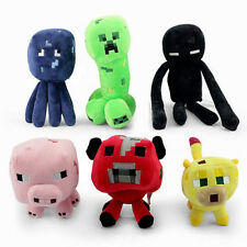Trendy NEW Minecraft Overworld Creeper Animal Plush Doll Soft Toy Kids Gift HCUS