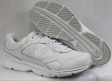 NEW Mens NEW BALANCE 456 WS EXTRA WIDE 4E EEEE White Silver Sneakers Shoes