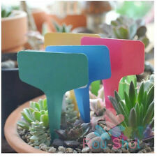 10PCS Multi-Color Garden Plant Label Garden Flower Display Plastic Tag Maker