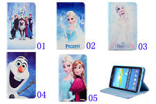 Frozen Olaf Disney PU Leather Cover Case for Samsung Galaxy Tab 3 7.0 P3200 T210