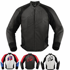 ICON HYPERSPORT MOTORCYCLE LEATHER  JACKET