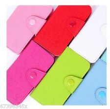 Wallet Card Slot Purse Flip Leather Case Pouch Cover FOR LG Optimus Cell PHONES