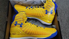 Under Armour Stephen Curry PE Clutchfit Drive TAXI YELLOW SC30 shoes Size 9-12.5