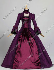 Renaissance Queen Victorian Dress Gown Theater Adult Women Halloween Costume 138