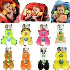 Cute Baby U-shaped Neck Headrest Travel Car Seat Pillow Child Stroller Cushion