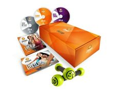 ZUMBA GOLD WORKOUT SYSTEM~ COMPLETE SET INCLUDING TONING STICKS