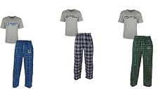 NWT MEN NFL Raiders, NY Jets, or IN Colts 2 PC Pajamas Set NEW Free Ship