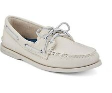 Sperry Top Sider Men's Authentic Original 2-Eye Leather Boat Shoes Ice 0195149